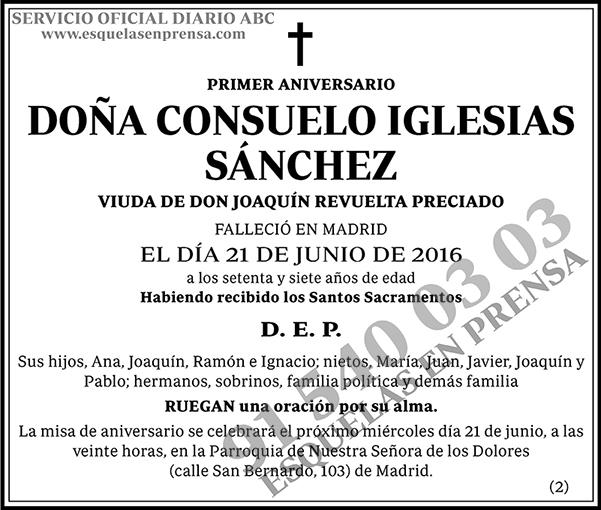 Consuelo Iglesias Sánchez